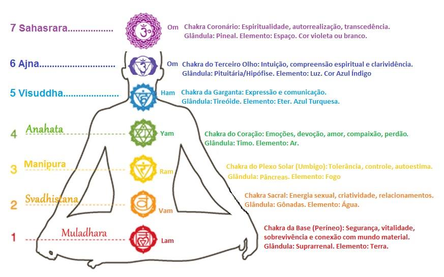 chakras equilibrio centros de energias