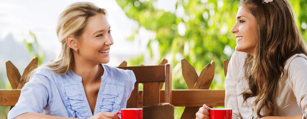 mulheres conversando